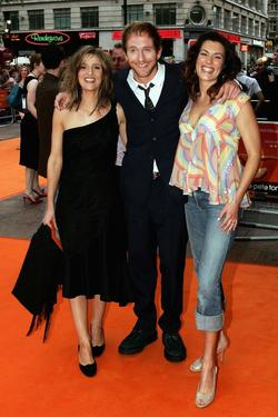 Beatriz Batarda, Paul Kaye and Kate Magowan at the UK premiere of &quot;It&#39;s All Gone Pete Tong.&quot;